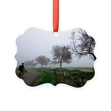 (4) Foggy Rider Ornament