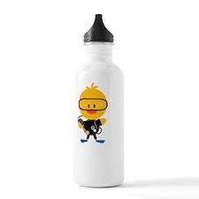 ScubaChickDkT Water Bottle