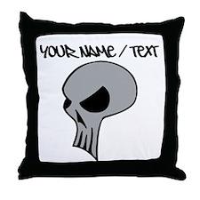 Skull Throw Pillow