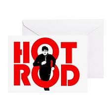 HOT ROD BLAGO Greeting Card
