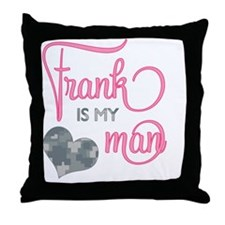 RoxyisMyGirl_Frank Throw Pillow