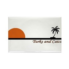 Cute Turks and caicos Rectangle Magnet