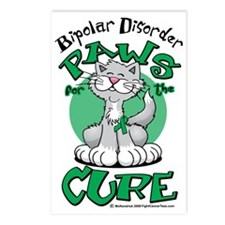 Paws-for-the-Cure-Cat-Bip Postcards (Package of 8)