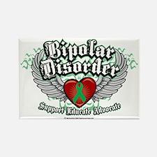 Bipolar-Disorder-Wings Rectangle Magnet