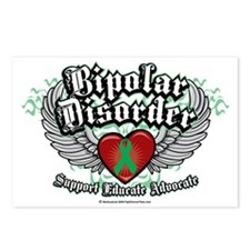 Bipolar-Disorder-Wings Postcards (Package of 8)