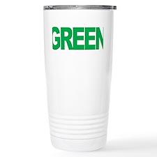 Bipolar-Disorder-THINK-Green-bl Travel Mug