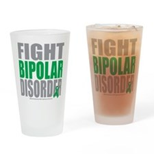 Fight-Bipolar-Disorder Drinking Glass