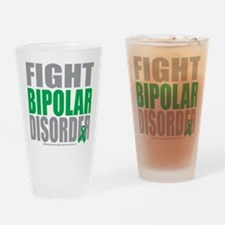 Fight-Bipolar-Disorder Drinking Glass