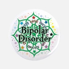 "Bipolar-Disorder-Lotus 3.5"" Button"