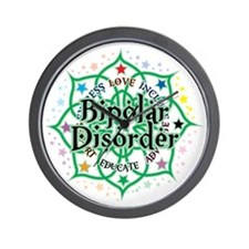 Bipolar-Disorder-Lotus Wall Clock