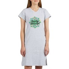 Bipolar-Disorder-Lotus Women's Nightshirt