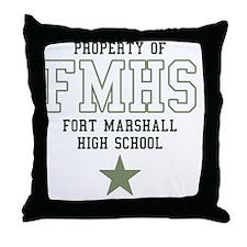 FortMarshallHigh Throw Pillow