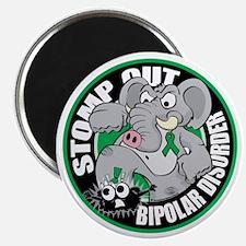 Stomp-Out-Bipolar-Disorder-Circle Magnet