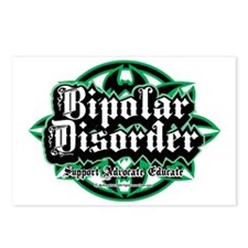 Bipolar-Disorder-Tribal Postcards (Package of 8)