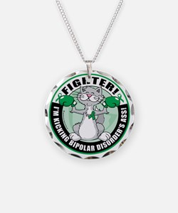Bipolar-Disorder-Cat-Fighter Necklace