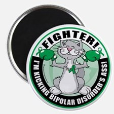 Bipolar-Disorder-Cat-Fighter Magnet