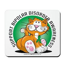 Bipolar-Disorder-Cat Mousepad