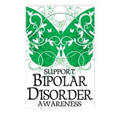 Bipolar-Disorder-Butterfl Postcards (Package of 8)