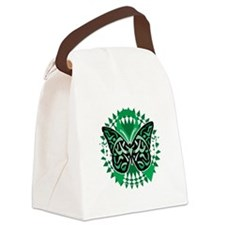 Bipolar-Disorder-Butterfly-Tribal Canvas Lunch Bag