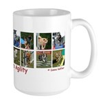 Addicted to Agility Large Mug