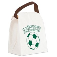 soccerballMX1 Canvas Lunch Bag