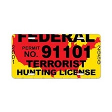 TH-License-FEDERAL Aluminum License Plate