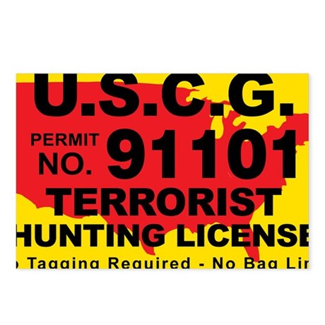 TH-License-USCG Postcards (Package of 8)