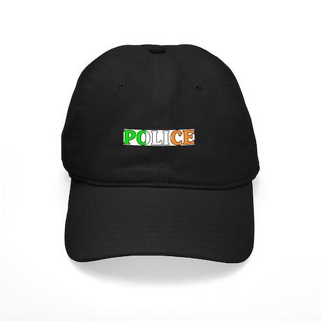 Irish Police Black Cap