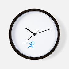 Check My Pulse White Wall Clock