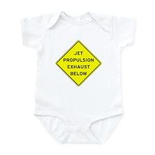 Jet Propulsion Exhaust Infant Bodysuit