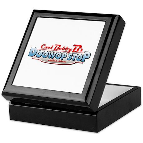 Cool Bobby B's Doo Wop Stop Keepsake Box
