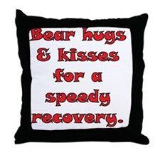 2-speedy recovery 04 copy Throw Pillow
