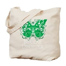 Bipolar-Disorder-Butterfly-blk Tote Bag