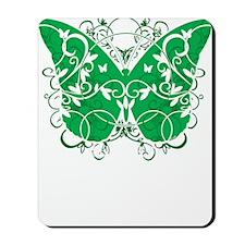 Bipolar-Disorder-Butterfly-blk Mousepad