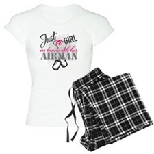 Just a girl Airman Pajamas