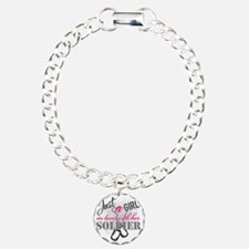 Just a girl Soldier Bracelet