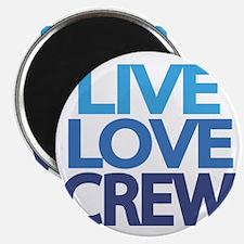 live-love-crew Magnet
