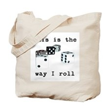 Dice Roll Tote Bag