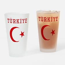 turkiye1 Drinking Glass