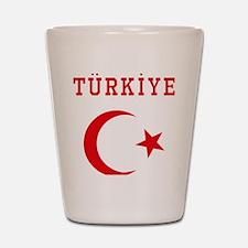 turkiye1 Shot Glass