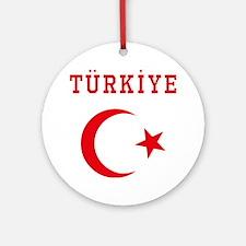 turkiye1 Round Ornament