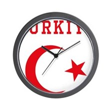 turkiye1 Wall Clock