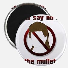 1-SayNoMullet Magnet