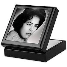 Dianas mom retouched Keepsake Box
