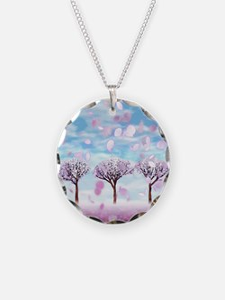 Sakurama - Cherry trees Necklace