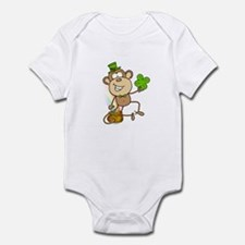 Leprechaun Monkey Infant Bodysuit