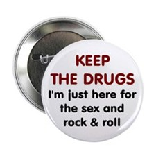 Sex and Rock & Roll Button