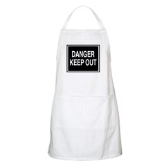 Danger - Keep Out sign BBQ Apron