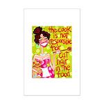 Cat Hair Mini Poster Print
