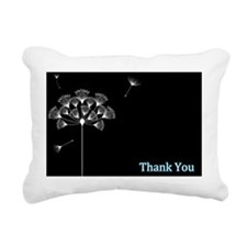 Thank you for Beliving i Rectangular Canvas Pillow